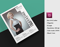InDesign Fashion Lookbook Template