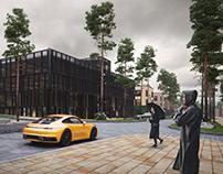 CGI - Parking in Almaty