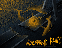 Widespread Panic - Gig Poster