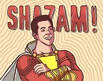 Alternative Poster Illustration for Shazam