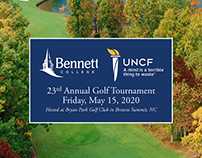 Bennett College / UNCF 23rd Annual Golf Tournament