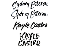 Rugged Brush Script for Logos