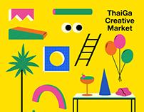 Key Visual : ThaiGa Creative Market 2019