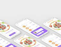 Food app design-2 pages