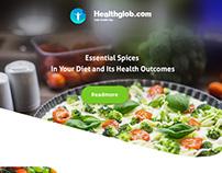 health globe email creative