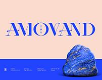 AMOVAND TYPEFACE