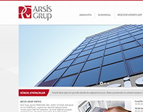 Arsis Grup - Web Design