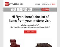 American Signature Email Template Design