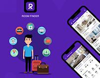Room Finder App - UI/UX Design