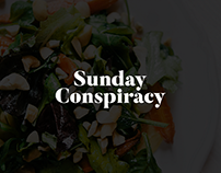 Bulleit Bourbon X Sunday Conspiracy