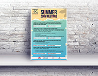 Summer Zoom Event Flyer