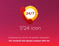 7\24 Icon