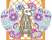 Día de muertos - Sugar skull collection