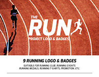 Running Logo & Badges