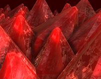 Crystals - 3D modeling