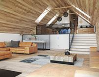Mountain loft