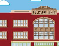 Coliseum Lofts Ad