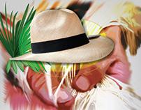 Etiqueta sombreros Plamato