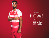 Club Africain - New Home - Away Kit 2018 - 2019