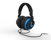 3D Modeling   Product #2   Philips Headphones