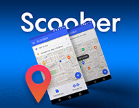 Scoober - an Uber-like Android taxi app for scooters