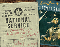 National Service - War Poster Kit