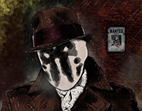 Rorschach Digital Illustration