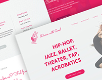 Dance with Carol Performance Academy Website Redesign