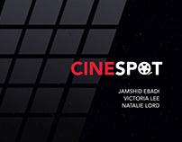 CineSpot: Movie Seating App