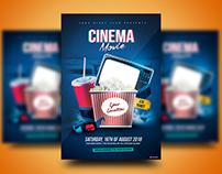 Cinema Movie Flyer