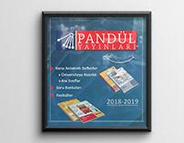 Pandül Yayınları İnstagram Post Çalışması.