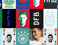 Adidas - Federations Visuals - Away
