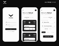 Zonda design concept