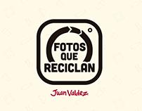 Fotos que reciclan - Juan Valdez
