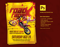 Motocross Event Flyer Template
