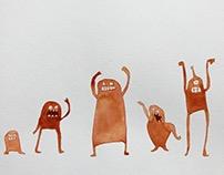 monster dance off