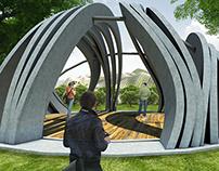 Magnet Pavilion, Experimental Modeling