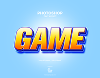 Free Game Photoshop Text Effect