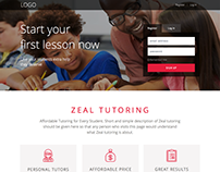 On-line tutoring website redesign