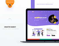 Creative Agency UI/UX Design