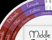 Middle-Earth Calendar