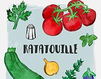 Ratatouille illustration