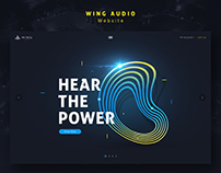 Wing Audio - Website