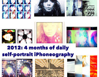 2012: 4 Months Of Daily Self-Portrait iPhoneography