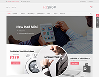 SJ H2shop - Modern Responsive eCommerce Joomla Template