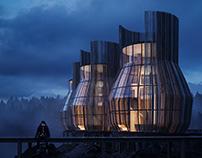 Iceland - Lake Cabins