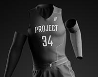 P34 Basketball Mockup - Russ