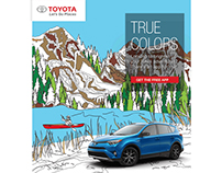 Toyota USA Color your adventures