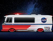 Hot Rod Nasa Van