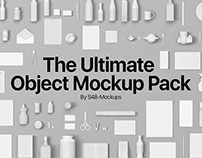 The Ultimate Object Mockup Asset Pack for Photoshop